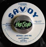 "45 7"" ✦ NAPPY BROWN ✦ IT'S ALL YOURS/BECAUSE I LOVE YOU- UNISSUED 50s RECORDINGS"